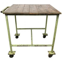 Industriální vozík, stolek