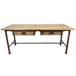 industriální stůl