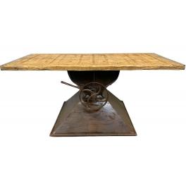 industriální konferenční stůl