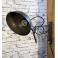 Industriální nůžková lampička