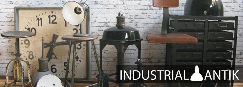 Lampy Industrial antik
